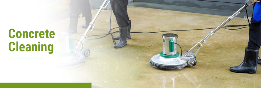 Concrete Cleaning by Teasdale Fenton